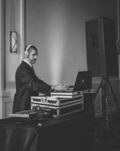 Wedding DJ Dan Moran - Black and White