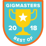 Gigmasters Wedding DJ Award 2018