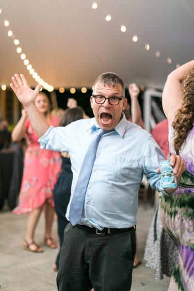 Crazy Uncle on Wedding Dancefloor