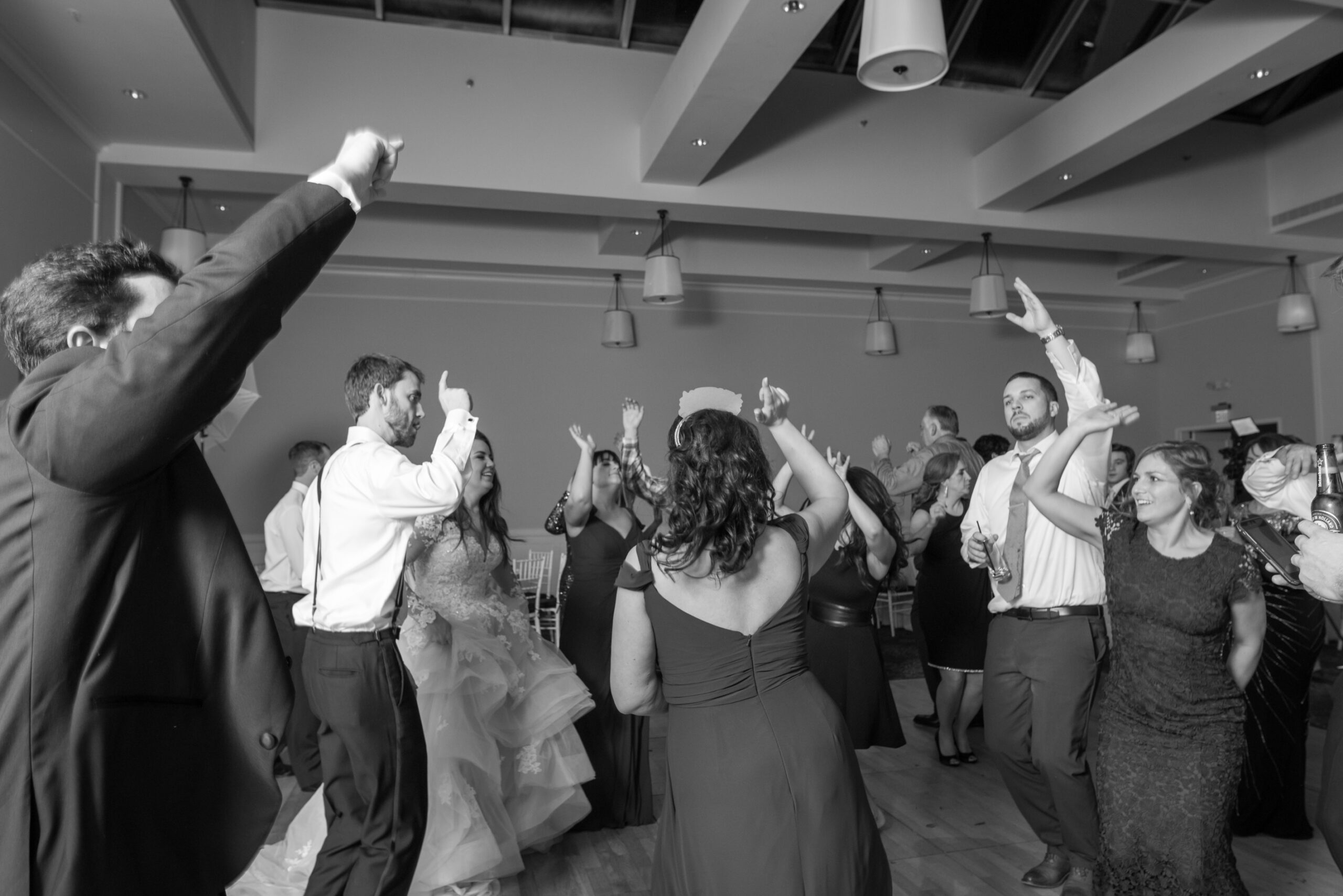 New-Years-Eve-Wedding-Dancefloor-Guests-Hands-Up