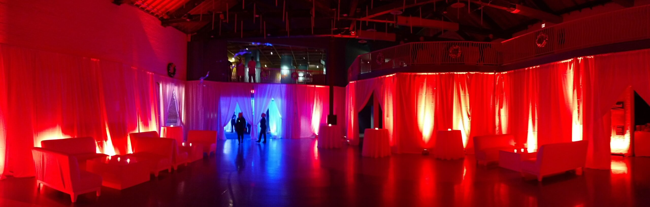 Maritime Aquarium Holiday Parties Norwalk Uplighting Lounge